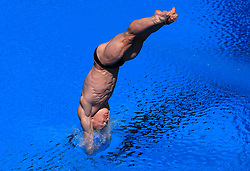 England's Jack Laugher in action during the Men's 1m Springboard Preliminary at the Optus Aquatic Centre during day seven of the 2018 Commonwealth Games in the Gold Coast, Australia.