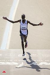Albert Korir, KEN, adidas, 2nd place<br /> TCS New York City Marathon 2019