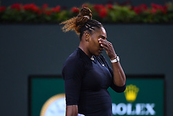 March 9, 2019 - Indian Wells, USA - Serena Williams  (Credit Image: © Panoramic via ZUMA Press)