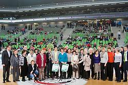 during basketball match between KK Union Olimpija Ljubljana and BC Maccabi Fox Tel Aviv (ISR) in 5th Round of EuroCup LAST32, on February 3rd, 2016 in Arena Stozice, Ljubljana, Slovenia. Photo by Urban Urbanc/ Sportida