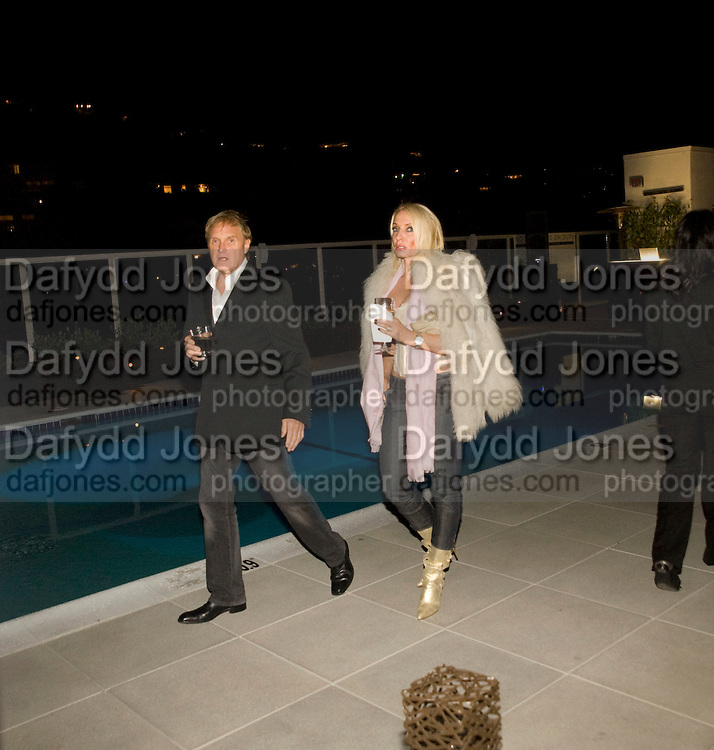 MIRA SEIDENGLANT; ROBERT SEIDENGLANT. Vanity fair and Bally's 'Hollywood Domino' party to benefit The Art of Elysium at the Andaz Hotel, Sunset Boulevard. West Hollywood. 20 February 2009 *** Local Caption *** -DO NOT ARCHIVE-© Copyright Photograph by Dafydd Jones. 248 Clapham Rd. London SW9 0PZ. Tel 0207 820 0771. www.dafjones.com.<br /> MIRA SEIDENGLANT; ROBERT SEIDENGLANT. Vanity fair and Bally's 'Hollywood Domino' party to benefit The Art of Elysium at the Andaz Hotel, Sunset Boulevard. West Hollywood. 20 February 2009