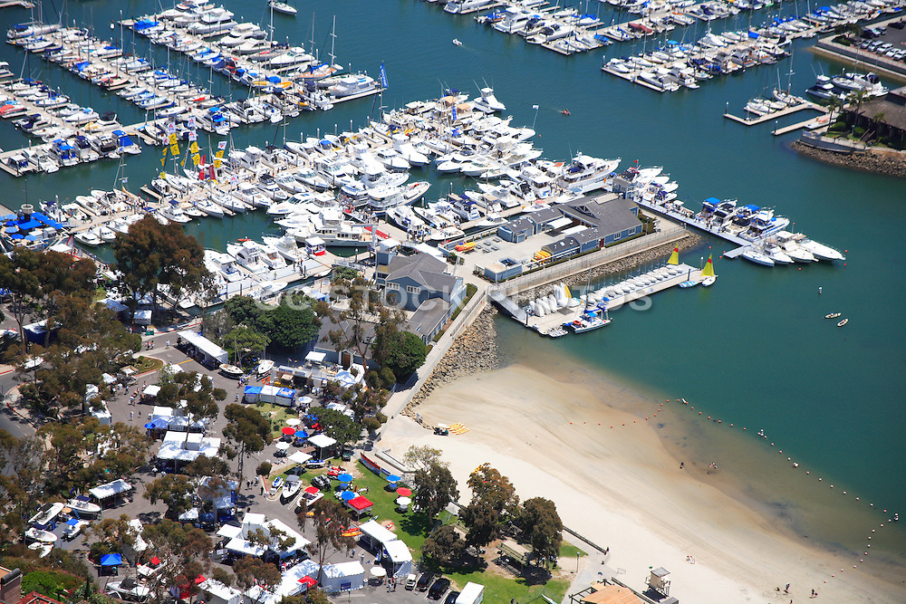 Youth Docks and Baby Beach at the Dana Point Harbor
