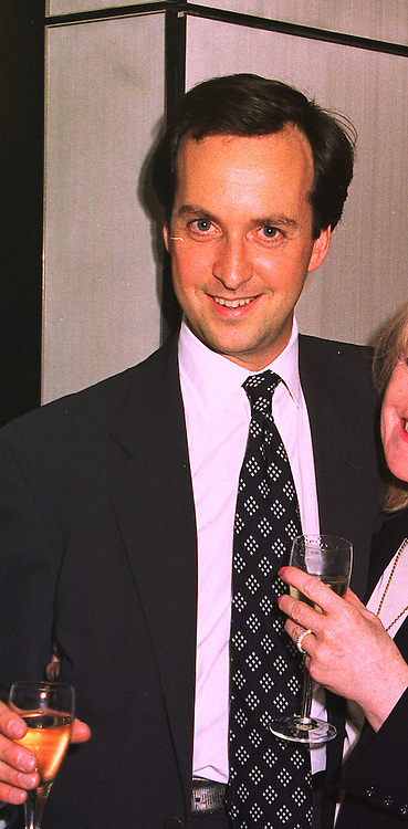 Restauranter MR DAVID LOEWI, at a party in London on 9th July 1998. MIZ 29 MO