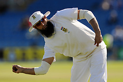 South Africa's Hashim Amla during the fifth day of the second test at Headingley, Leeds.