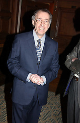 The French ambassador to the UK GERARD ERRERA at a dinner hosted by footballer Patrick Vieira and the Diambars UK Charital Trust at The Landmark Hotel, 222 Marylebone Road, London NW1 on 3rd February 2005.<br /><br />NON EXCLUSIVE - WORLD RIGHTS