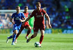 Jordan Henderson of Liverpool in action- Mandatory by-line: Nizaam Jones/JMP - 21/04/2019 -  FOOTBALL - Cardiff City Stadium - Cardiff, Wales -  Cardiff City v Liverpool - Premier League
