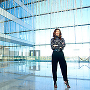Charlotte Jones Anderson poses for a photo at the the Star, the new headquarters for the Dallas Cowboys, in Frisco, Texas on November 30, 2017. (Cooper Neill for The New York Times)