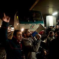Protesta lavoratori  Wagon-Lits