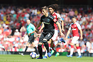 West Ham United defender Aaron Cresswell (3) during the Premier League match between Arsenal and West Ham United at the Emirates Stadium, London, England on 22 April 2018. Picture by Bennett Dean.