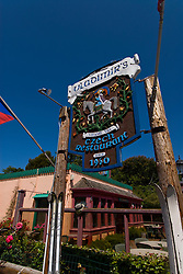 California: Vladimir's Czech Restaurant at Inverness Park, Point Reyes National Seashore near San Francisco. Photo copyright Lee Foster. Photo # casanf81402