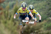Jennie STENERHAG (SWE) and Mariske STRAUSS (RSA)of Team Silverback - Fairtree during the Prologue of the 2019 Absa Cape Epic Mountain Bike stage race held at the University of Cape Town in Cape Town, South Africa on the 17th March 2019.<br /> <br /> Photo by Greg Beadle/Cape Epic<br /> <br /> PLEASE ENSURE THE APPROPRIATE CREDIT IS GIVEN TO THE PHOTOGRAPHER AND ABSA CAPE EPIC