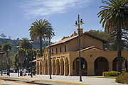 Santa Barbara Train Station, State Street, California, USA