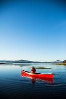 Crane Prairie Reservoir, Oregon.