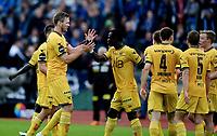 Fotball , 3. juni 2017 ,  , eliteserien , Stabæk - Lillestrøm <br /> jubel Frode Kippe og Bonke Innocent , LSK