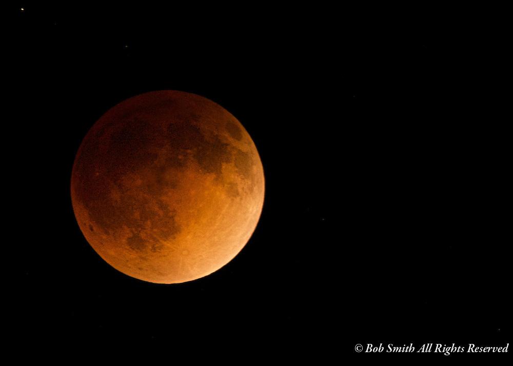 Blood moon lunar eclipse on April 14, 2014