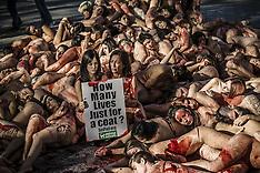 Barcelona: Naked Protest 11 Dec 2016
