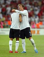 Photo: Chris Ratcliffe.<br /> England v Ecuador. 2nd Round, FIFA World Cup 2006. 25/06/2006.<br /> David Beckham of England celebrates.