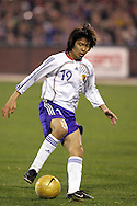 10 February 2006: Japan's Masashi Motoyama. The United States Men's National Team defeated Japan 3-2 at SBC Park in San Francisco, California in an International Friendly soccer match.