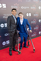 Premiere of Eaten by Lions directed by Jason Wingard at the Edinburgh International Film Festival<br /> <br /> Pictured: Antonio Aakeel and Jack Carroll