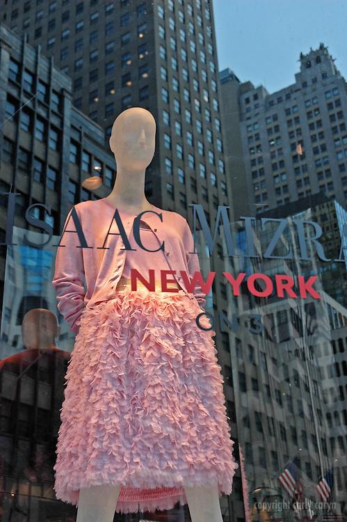 Saks Fifth Avenue, Isaac Mizrahi spring pink dress