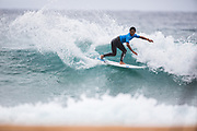 Momoto Tsuzuki of Japan advances directly to Round Three of the 2018 Jeep World Junior Championship after winning Heat 2 of Round One at Kiama, NSW, Australia. . FOR EDITORIAL NEWS USE ONLY