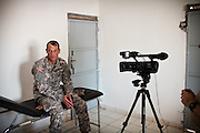 "Public Relations operation around the medical camp - interviewing soldiers...Military people from the Civil Affairs department of the US Army doing a trip to Sagallou (near Tadjoura), as part of a medical camp mission. Part of the ""3D approach"" of the US Army : Development (in that case), Democracy, Defense...The geostrategical and geopolitical importance of the Republic of Djibouti, located on the Horn of Africa, by the Red Sea and the Gulf of Aden, and bordered by Eritrea, Ethiopia and Somalia."