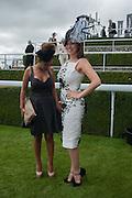 PREEYA KALIDAS; KELLY BROOK, Ladies Day, Glorious Goodwood. Goodwood. August 2, 2012