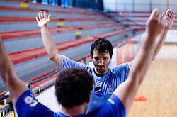 David Spiler at practice of Slovenian Handball Men National Team, on June 4, 2009, in Arena Kodeljevo, Ljubljana, Slovenia. (Photo by Vid Ponikvar / Sportida)