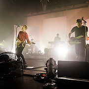 WASHINGTON, DC - September 3rd, 2014 - Spoon perform during the second of three sold-out nights at the Lincoln Theatre in Washington, D.C. (Photo by Kyle Gustafson / WAMU)
