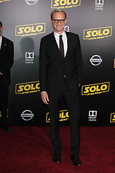 Solo: A Star Wars Story Premiere - Los Angeles. 10 May 2018 Pictured: Paul Bettany. Photo credit: Jaxon / MEGA TheMegaAgency.com +1 888 505 6342