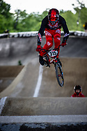 #315 (BOB Alec) USA at Round 5 of the 2019 UCI BMX Supercross World Cup in Saint-Quentin-En-Yvelines, France