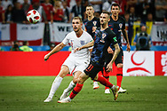 Jordan Henderson of England and Marcelo Brozovic of Croatia during the 2018 FIFA World Cup Russia, semi-final football match between Croatia and England on July 11, 2018 at Luzhniki Stadium in Moscow, Russia - Photo Thiago Bernardes / FramePhoto / ProSportsImages / DPPI