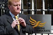 Charles Peter Kennedy MP ( 25 November 1959), Scottish politician..From 9 August 1999 until 7 January 2006, he was the leader of the Liberal Democrats, the third largest political party in the United Kingdom.<br /> Copyrighted work .Permission must be sought before use of this image..Alex Ekins +44 (0)114 2630277. +44 (0)7901883 994