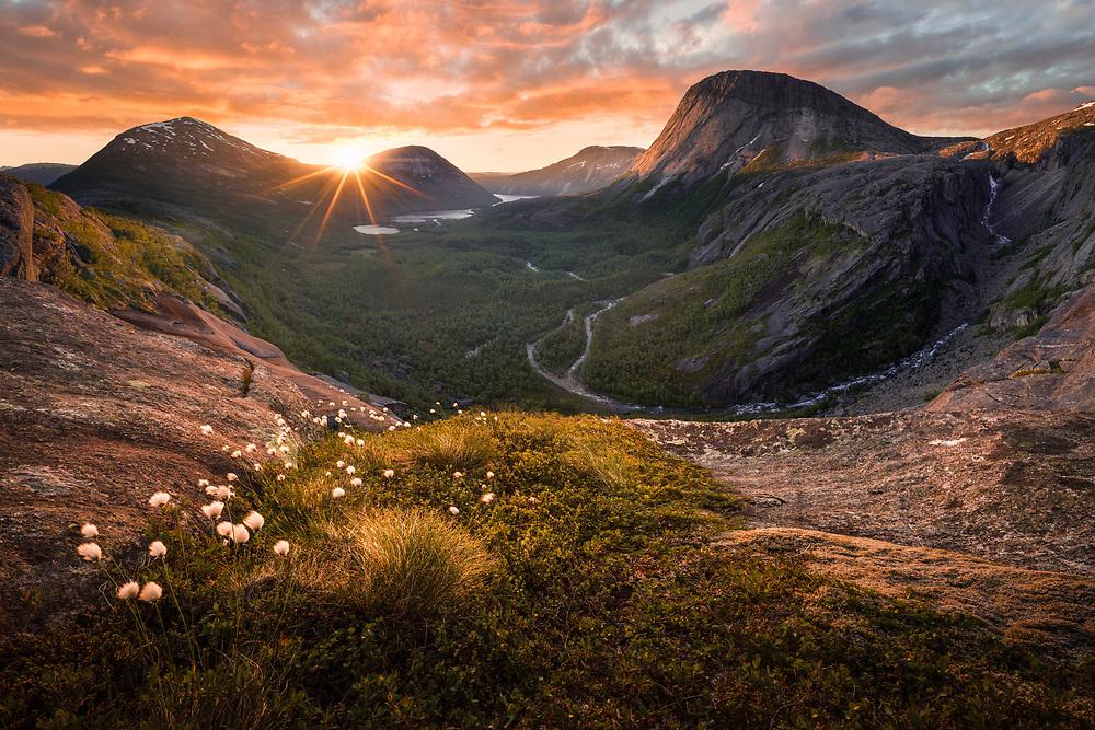 North Norway. June 2020.
