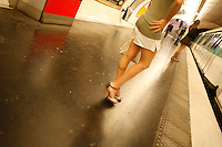 Waiting for the metro in Paris - Photograph by Owen Franken
