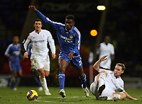 Photo: Paul Thomas.<br /> Bolton Wanderers v Chelsea. The Barclays Premiership. 29/11/2006.<br /> <br /> Salomon Kalou (L) of Chelsea gets away from Kevin Nolan of Bolton.