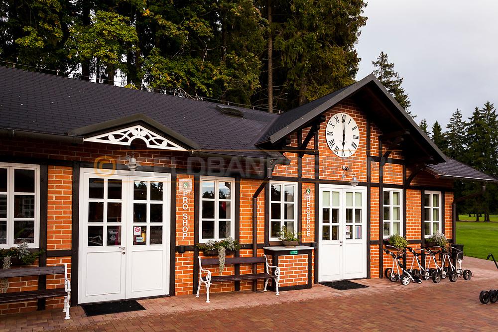 20-09-2015: Royal Golf Club Marianske Lazne in Marianske Lazne (Marienbad), Tsjechië.<br /> Foto: De Pro Shop