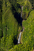 Waterfall, HalawaValley, Molokai, Hawaii