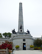 Abraham Lincoln's Tomb in Oak Ridge Cemetery, Springfield, Illinois, is the final resting place of the 16th President of the USA
