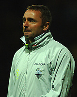 Photo: Paul Greenwood.<br />Preston North End v Luton Town. Coca Cola Championship. 04/11/2006. PNE manager Paul Simpson watches the match.