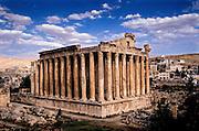 Temple of Bacchus Baalbek Lebanon