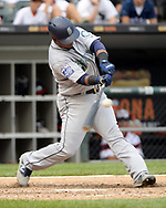 CHICAGO - JULY 16:  Juan Segura #2 of the Seattle Mariners bats against the Chicago White Sox on July 16, 2017 at Guaranteed Rate Field in Chicago, Illinois.  (Photo by Ron Vesely/MLB Photos via Getty Images)  *** Local Caption *** Juan Segura
