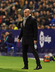 January 10, 2019 - Valencia, Valencia, Spain - Paco Lopez of Levante UD during the Spanish Copa del Rey match between Levante and Barcelona at Ciutat de Valencia Stadium on Jenuary 10, 2019 in Valencia, Spain. (Credit Image: © AFP7 via ZUMA Wire)