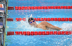 HANGZHOU, Dec. 16, 2018  Mykhailo Romanchuk of Ukraine competes during Men's 1500m Freestyle Final at 14th FINA World Swimming Championships (25m) in Hangzhou, east China's Zhejiang Province, on Dec. 16, 2018. Mykhailo Romanchuk claimed the title with 14:09.14. (Credit Image: © Xinhua via ZUMA Wire)