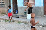 Well water in Bayamo, Granma, Cuba.