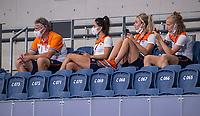 TOKIO - reserves met Simon Zijp,  tijdens de wedstrijd dames , Nederland-India (5-1) tijdens de Olympische Spelen   .   COPYRIGHT KOEN SUYK