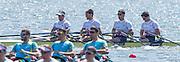Brandenburg. GERMANY. GBR M4X, Bow Angus GROOM, Sam TOWNSEND, Graeme THOMAS and Peter LAMBERT. 2016 European Rowing Championships at the Regattastrecke Beetzsee<br /> <br /> Saturday  07/05/2016<br /> <br /> [Mandatory Credit; Peter SPURRIER/Intersport-images]