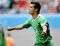Jared Borgetti (Mexiko) - Torjubel; Mexico, Spiel um Platz drei, 3, Länderspiel, Nationalmannschaft, Nationalteam, <br /> Norway only