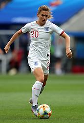 England's Karen Carney during the FIFA Women's World Cup, Group D match at the Stade de Nice.