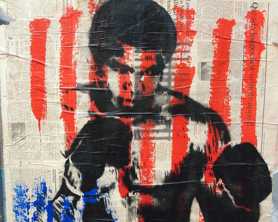 Street Art - Mohammed Ali